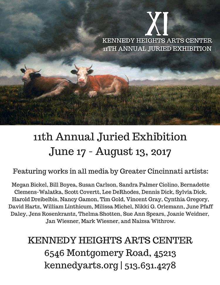 W_11th KHAC annual juried exhibition postcard