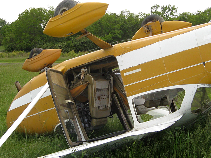 flipped airplane